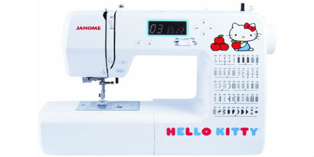 Janome 40 Hello Kitty Sewing Machine Fascinating Janome Hello Kitty Sewing Machine