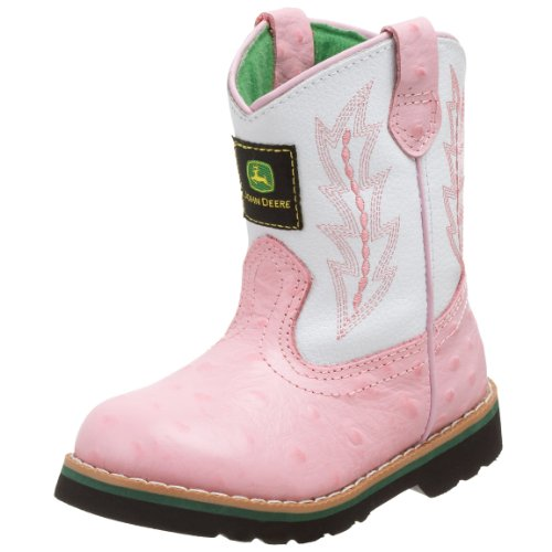 fa3b636b12f Pink John Deere Boots For Kids And Women